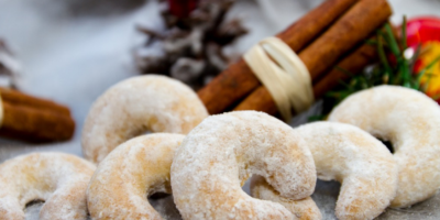 Vanilkové rohlíčky se sádlem