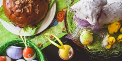 Velikonoční třený beránek