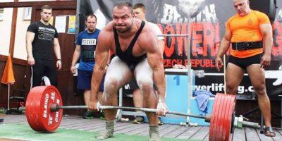 Michal Tichý – mistr České republiky, strongman