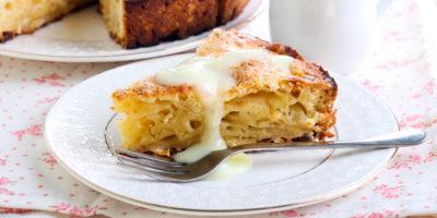 Bramborový koláč sjablky
